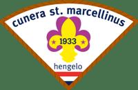 Het logo van Scouting Cunera-St. Marcellinus Hengelo
